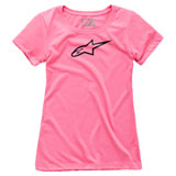 Alpinestars Women's Ageless T-Shirt Pink