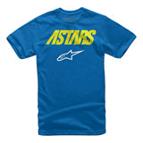 Alpinestars Youth Angle Combo T-Shirt Royal Blue