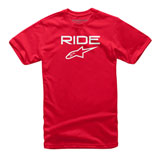 Alpinestars Youth Ride 2.0 T-Shirt Red