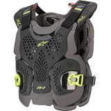 Alpinestars A-1 Plus Roost Guard Black/Anthracite/Fluo Yellow