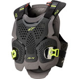 Alpinestars A-4 Max Roost Deflector Black/Anthracite/Fluo Yellow
