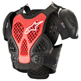 Alpinestars Bionic Roost Deflector Black/Red