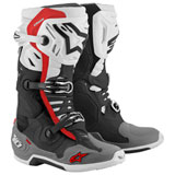Alpinestars Tech 10 Supervented Boots Black/White/Grey/Red
