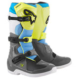 Alpinestars Tech 3 Boots Grey/Yellow/Cyan
