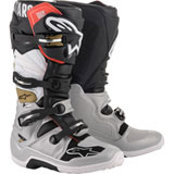 Alpinestars Tech 7 Boots  Black/Silver/White/Gold
