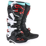 Alpinestars Tech 7 Boots 2019 Black/Turquoise/White/Red