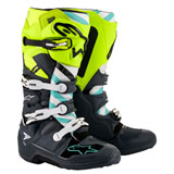 Alpinestars Tech 7 LE Anaheim 20 Boots Flo Yellow/Grey/Turquoise