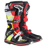 Alpinestars Tech 8 RS Boots Black/Red/Yellow