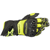Alpinestars GP Pro R3 Leather Gloves Black/Fluo Yellow