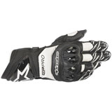 Alpinestars GP Pro R3 Leather Gloves Black/White