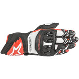 Alpinestars GP Pro R3 Leather Gloves Black/White/Red