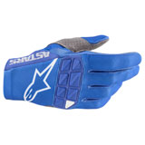 Alpinestars Racefend Gloves Blue/White