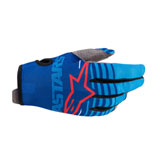 Alpinestars Youth Radar Gloves Blue/Aqua