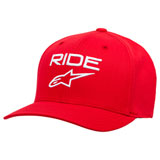 Alpinestars Ride 2.0 Flex Fit Hat Red/White