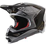 Alpinestars Supertech M10 Alloy MIPS Helmet Silver/Black/Carbon/Gold