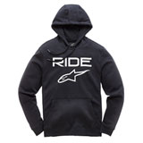 Alpinestars Ride 2.0 Hooded Sweatshirt Black/White