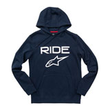 Alpinestars Ride 2.0 Hooded Sweatshirt Navy/White
