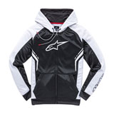 Alpinestars Strike Zip-Up Hooded Sweatshirt Black/White