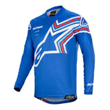 Alpinestars Racer Braap Jersey Blue/Off White