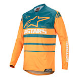 Alpinestars Racer Supermatic Jersey 20 Orange/Petrol