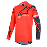 Alpinestars Racer Tech Compass Jersey Bright Red/Navy