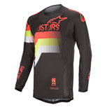 Alpinestars Techstar Venom Jersey Black/Red Fluo/Yellow Fluo