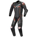 Alpinestars GP Pro V2 Tech-Air One-Piece Leather Suit Black/Camo/Flo Red