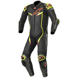 Alpinestars GP Pro V2 Tech-Air One-Piece Leather Suit Black/Metallic Grey/Flo Yellow