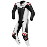 Alpinestars GP Tech V3 Tech-Air One-Piece Leather Suit Black/White/Silver