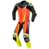 Alpinestars GP Tech V3 Tech-Air One-Piece Leather Suit Red/Black/Yellow Fluo