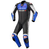 Alpinestars Missile Ignition Tech-Air One-Piece Leather Suit Black/Blue/White