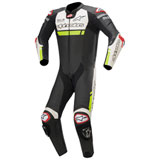 Alpinestars Missile Ignition Tech-Air One-Piece Leather Suit Black/White/Flo Yellow