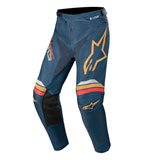 Alpinestars Racer Braap Pants Navy/Orange