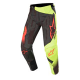 Alpinestars Techstar Factory Pants 20 Black/Yellow Fluo/Red Fluo