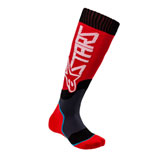 Alpinestars Youth MX Plus-2 Socks Red/White