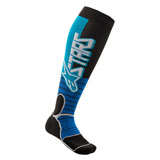 Alpinestars MX Pro Socks Cyan/Black