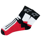 Alpinestars Road Racing Short Socks Black/Red