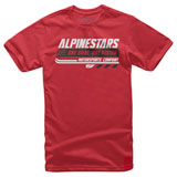 Alpinestars Bravo T-Shirt Red