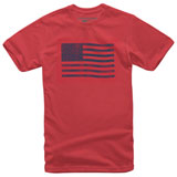 Alpinestars Flag T-Shirt Red