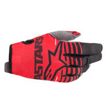 Alpinestars Youth Radar Gloves Bright Red/Black