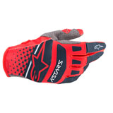 Alpinestars Techstar Gloves Bright Red/Navy