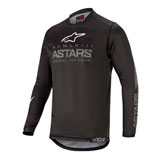 Alpinestars Youth Racer Graphite Jersey Black/Dark Grey