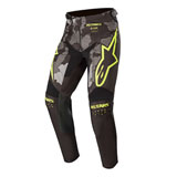 Alpinestars Youth Racer Tactical Pants 20 Black/Grey Camo/Yellow Fluo