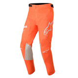 Alpinestars Youth Racer Tech Pants Orange Fluo/White/Blue