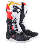 Alpinestars Tech 3 Boots Black/White/Red/Flo Yellow