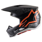 Alpinestars Supertech M5 Compass Helmet Matte Black/Orange