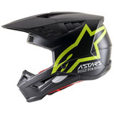 Alpinestars Supertech M5 Compass Helmet Matte Black/Yellow