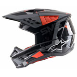 Alpinestars Supertech M5 Rover Helmet Anthracite/Red Fluo/Grey Camo
