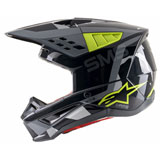 Alpinestars Supertech M5 Rover Helmet Anthracite/Yellow Fluo/Grey Camo