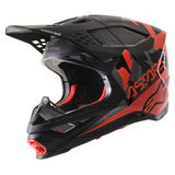 Alpinestars Supertech M8 Echo MIPS Helmet Black/Red/Grey